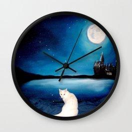 Tyche magical kitty Wall Clock