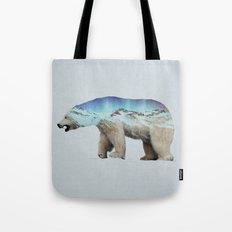 The Arctic Polar Bear Tote Bag