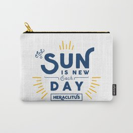 Heraclitus - The sun is new each day Carry-All Pouch