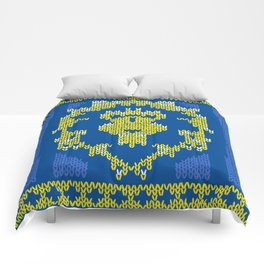 Ugly Sweater 1 Comforters