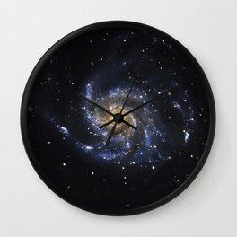 Spiral Galaxy M101 Wall Clock