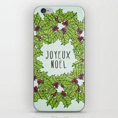Joyeux Noel iPhone & iPod Skin