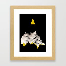 Cave Mouth Framed Art Print