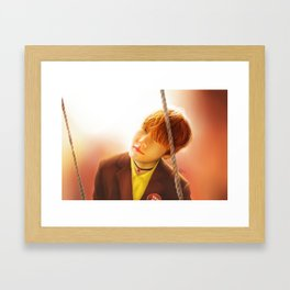 Taehyung Framed Art Print