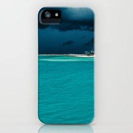 Maldivian storm 2 iPhone Case