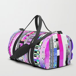 Glitch Ver.3 Duffle Bag