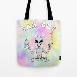 Far Out Alien (Pastel) Tote Bag