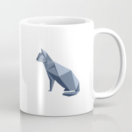 Origami Cat Coffee Mug