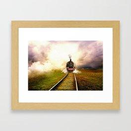 Chuu Chuu Train Framed Art Print