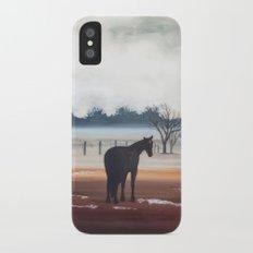 Misty Morning iPhone X Slim Case