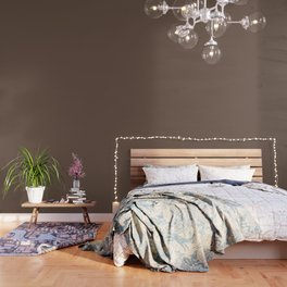 Rich Cocoa (Brown) Color Wallpaper