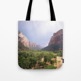 Escape To Zion Tote Bag
