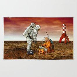 Astronauts Rug