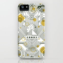 Moon's Arrival iPhone Case