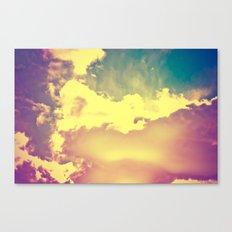 sky's the limit Canvas Print