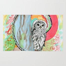 Owl Dreamcatcher Dream Rug