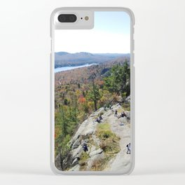 Lookout from Bald Mt. Clear iPhone Case