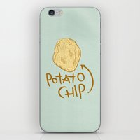 potato iPhone & iPod Skins featuring POTATO CHIP by Josh LaFayette