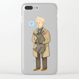 Good Omens- The Ineffable Couple Clear iPhone Case