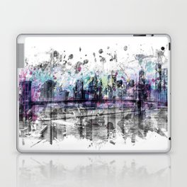 Modern Art NEW YORK CITY Skyline | Splashes Laptop & iPad Skin