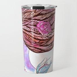 Woman of the Roses Travel Mug