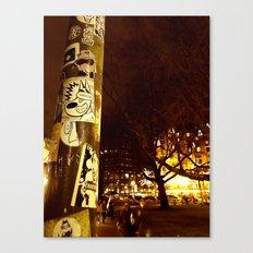 Birita Sticker 6 - Amsterdam Canvas Print