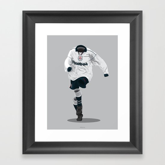 Bolton Wanderers 1995-97 Framed Art Print