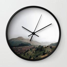 Scottish landscape Wall Clock