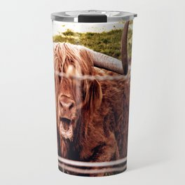 Greetings from the Highlands Travel Mug