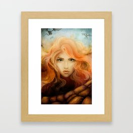 Dragon Choir Framed Art Print