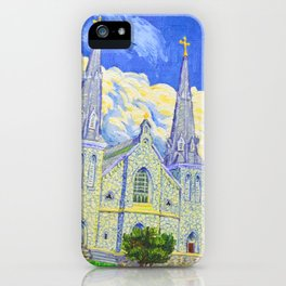 St Thomas of Villanova Chapel iPhone Case