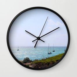 Sun Dance Cove Wall Clock