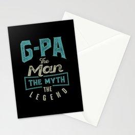 G-Pa The Myth The Legend Stationery Cards
