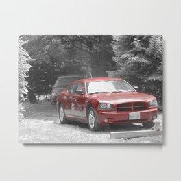Charger Metal Print