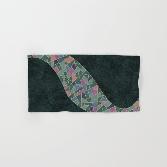 Geometric Marble 02 Hand & Bath Towel