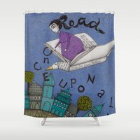 read Shower Curtains featuring Read by Judith Clay