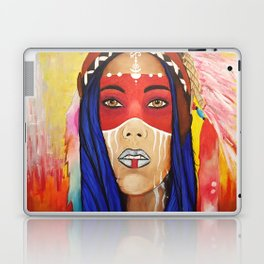 Tribal Lady Laptop & iPad Skin