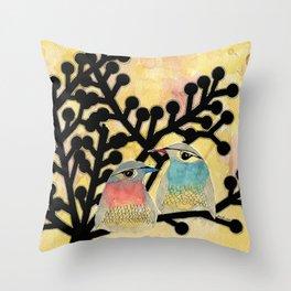 Pia and Armand Throw Pillow