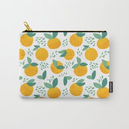 Creative citrus print. Add some vitamins to your life! :) Carry-All Pouch