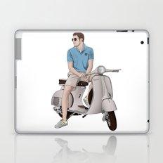 Vespa Lover Laptop & iPad Skin