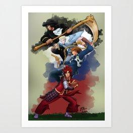 Ninjago: Destined Art Print