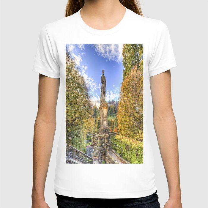 Allan Ramsey And Edinburgh Castle T-shirt