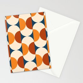 60s Beans Pattern Stationery Cards