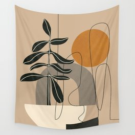 Abstract Shapes 04 Wall Tapestry