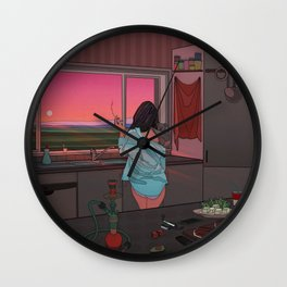 Aesthetic Chill Out Wall Clock