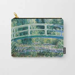 1899-Claude Monet-Water Lilies and Japanese Bridge Carry-All Pouch