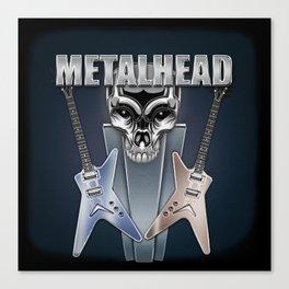 Metalhead Canvas Print