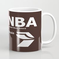 nba Mugs featuring NBA. Muscles or Brain ? by CHR Design Posters