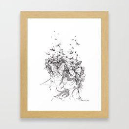 Decomposition Framed Art Print