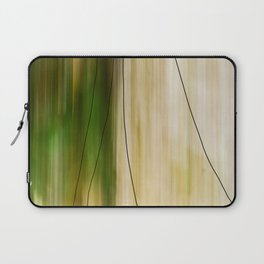 Forest, Water, Lines Laptop Sleeve